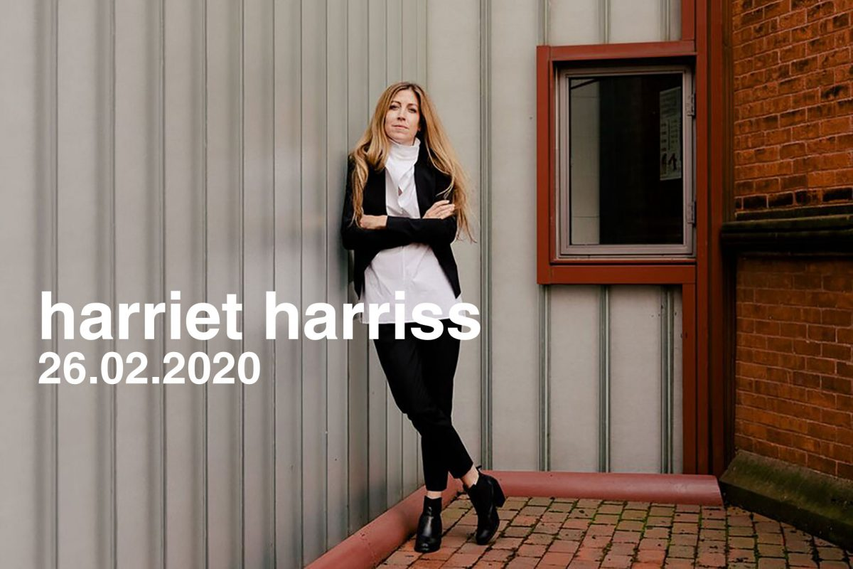 Harriet Harriss, 26.02.2020
